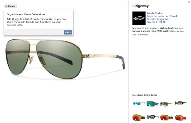 Facebook adds Collections to compete with Pinterest and encourage eCommerce.