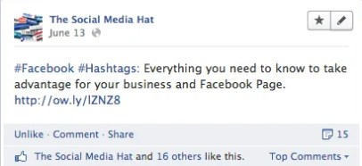 Facebook Text Post