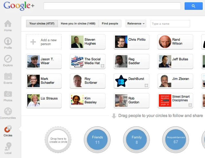 WOW your customers with Google+ Circles