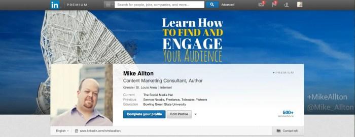 New LinkedIn Cover Photo for Premium Members