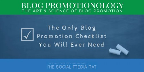 Blog Promotionology, The Art & Science of Blog Promotion
