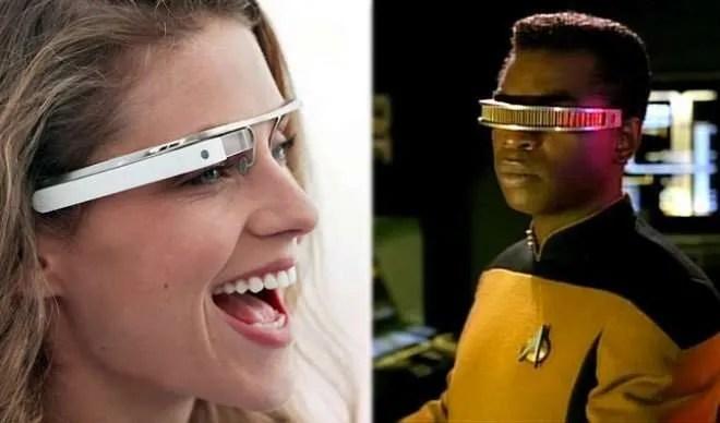 Google Glasses or Star Trek Visor?