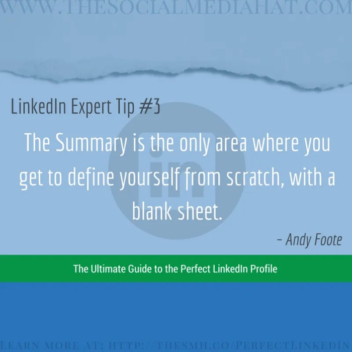 Expert LinkedIn Tip from Andy Foote