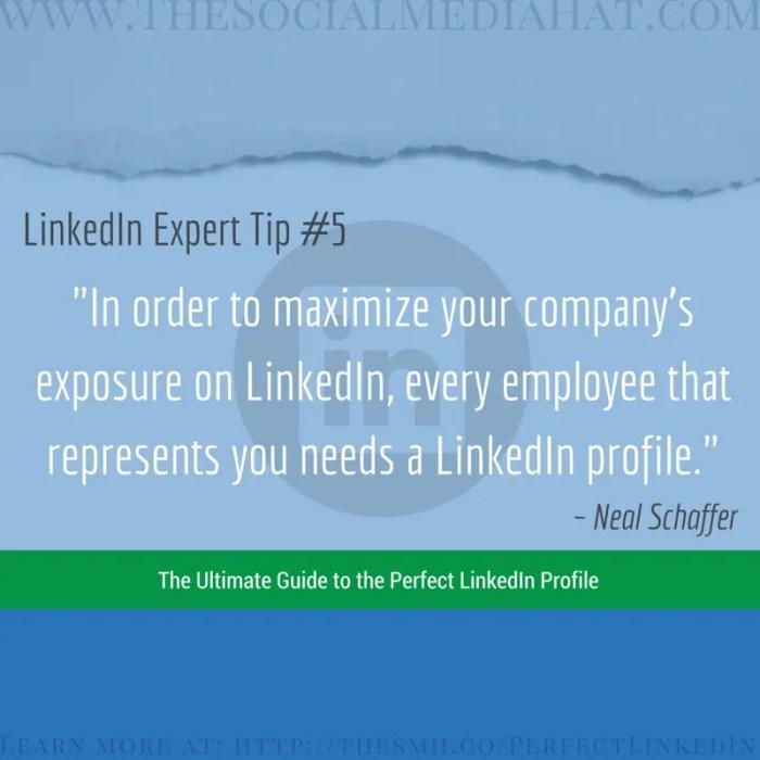Expert LinkedIn Tip from Neal Schaffer
