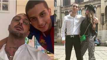 Carlos Maria Corona festeggia l'esame di maturità con mamma Nina Moric e papà Fabrizio Corona: le fotografie