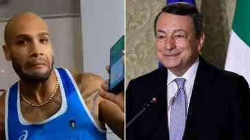 """Atletica d'oro, la telefonata di Draghi a Tamberi e Jacobs: """"Marcell scusa, c'è il presidente del Consiglio"""""""