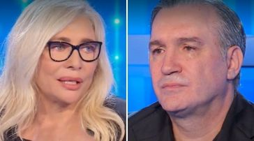 Mario Merola ricordato con commozione a Domenica In: Francesco Merola e Mara Venier in lacrime