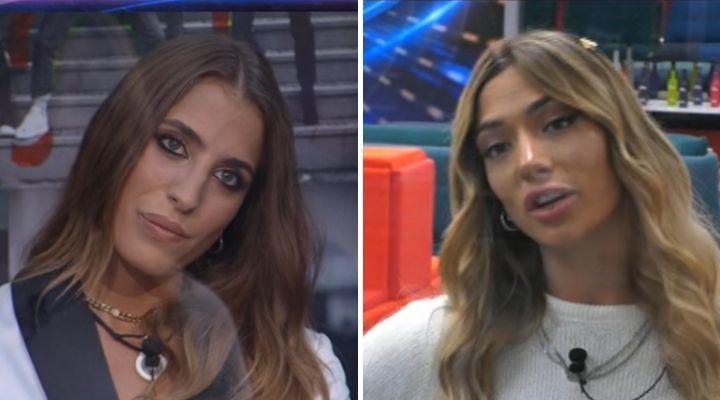 """Soleil Sorge attaccata dalla fidanzata di Gianmaria Antinolfi, la lite al Grande Fratello Vip: """"Impara a recitare"""""""