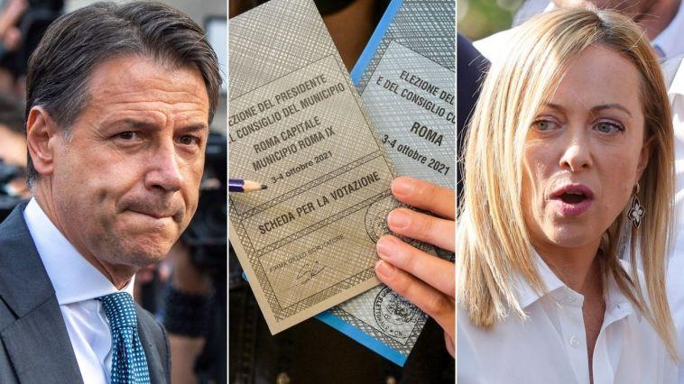 """Elezioni: cala l'affluenza, ma seggi aperti anche domani. Giuseppe Conte contro la Meloni: """"Attacchi gratuiti"""""""