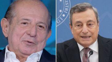 Giancarlo Magalli e Mario Draghi ex compagni di classe, i retroscena: le parole del conduttore a Verissimo