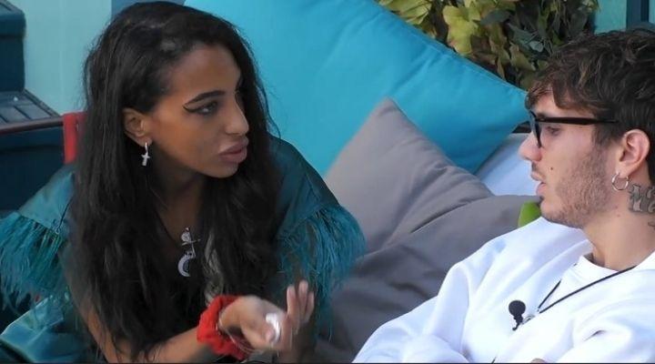 """Manuel Bortuzzo e Lulù Selassié, nuovo confronto al GFVip6: """"Tu fai il tuo percorso, io faccio il mio"""": il video"""