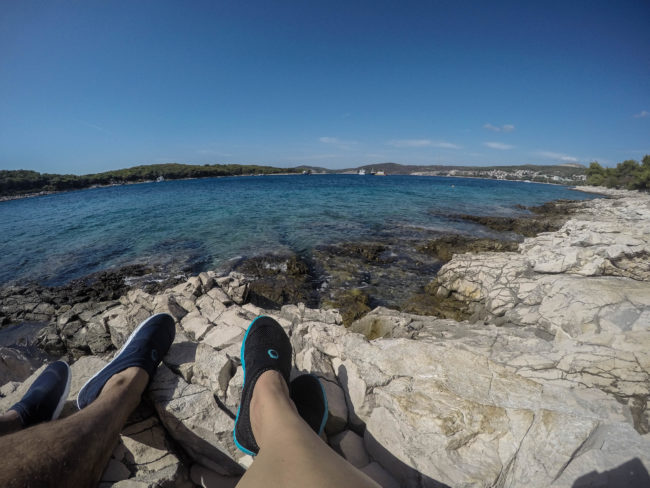 Paklinsky Islands in Croatia, the cleares sea ever - The Solivagant Soul