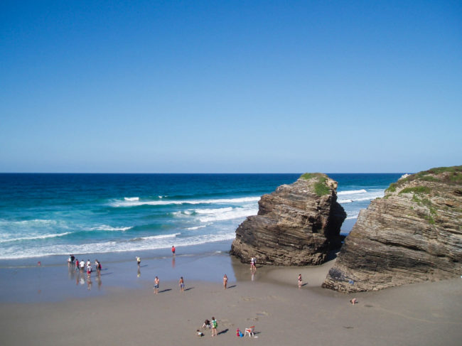 Praia das Catedrais, a beach made out of cathedrals in Galicia, Spain | The Solivagant Soul