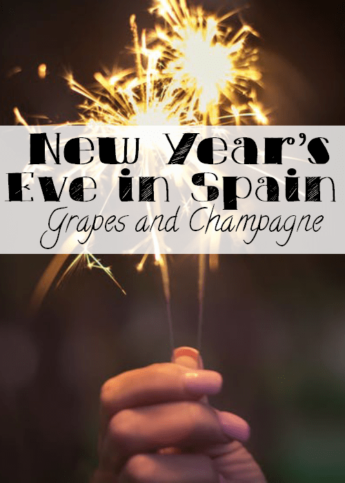 New Year's Eve in Spain : Grapes and Champagne - The Solivagant Soul
