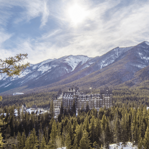 Banff Springs Fairmont in Alberta Canada - One of the nicest hotels you can find in the Rockies in Canada - The Solivagant Soul