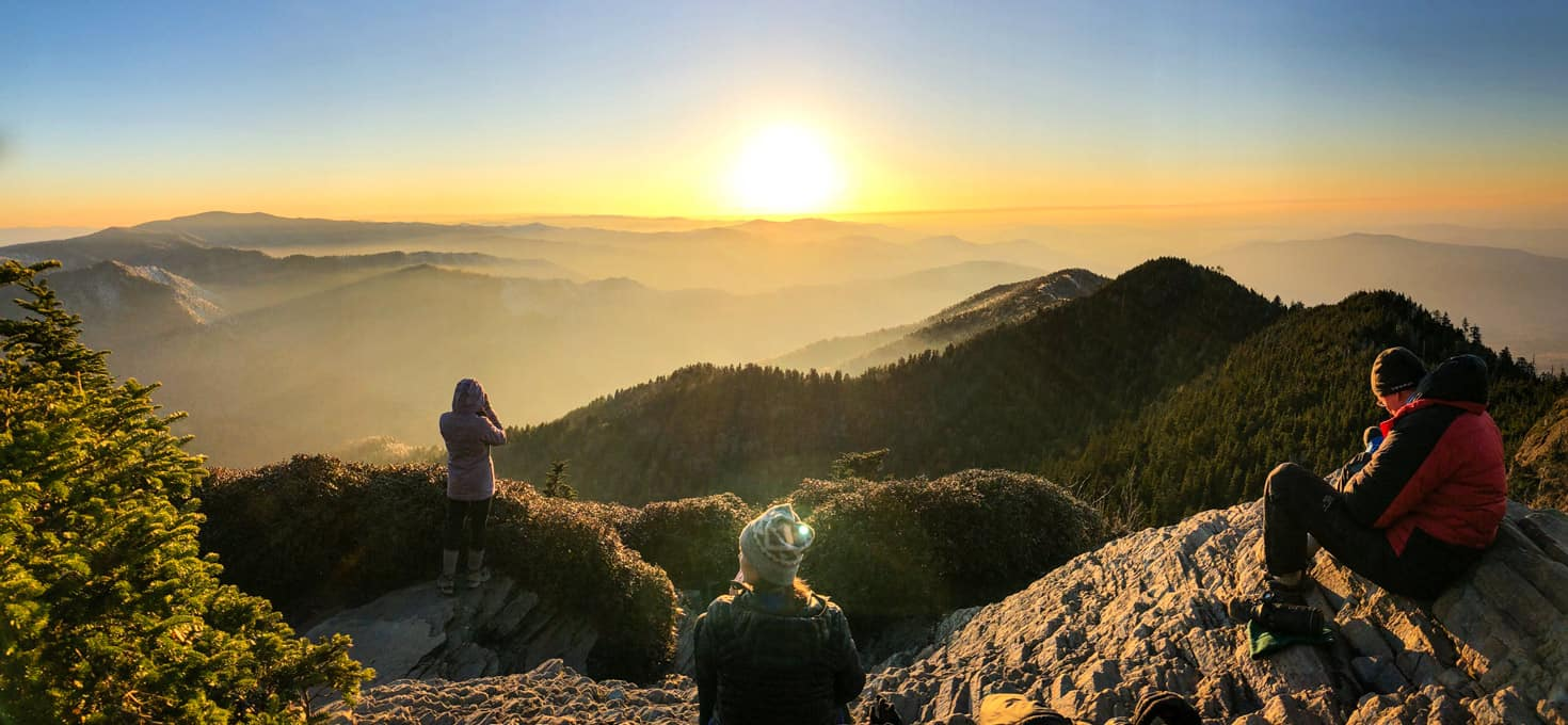 Hike: Mt LeConte Via Rainbow Falls Trail
