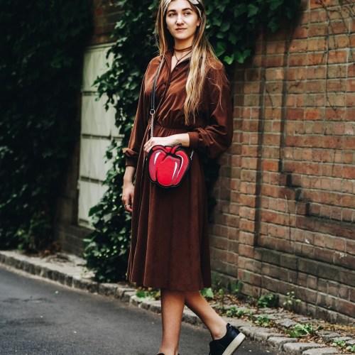 How to: Vintage Kleid modern kombinieren