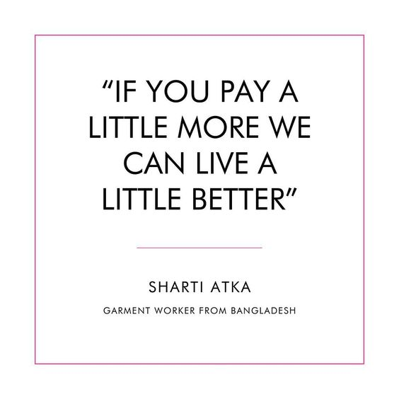 Fair & Eco Fashion: What a Garment Worker says