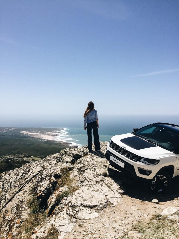 Aussicht auf das Meer in Portugal