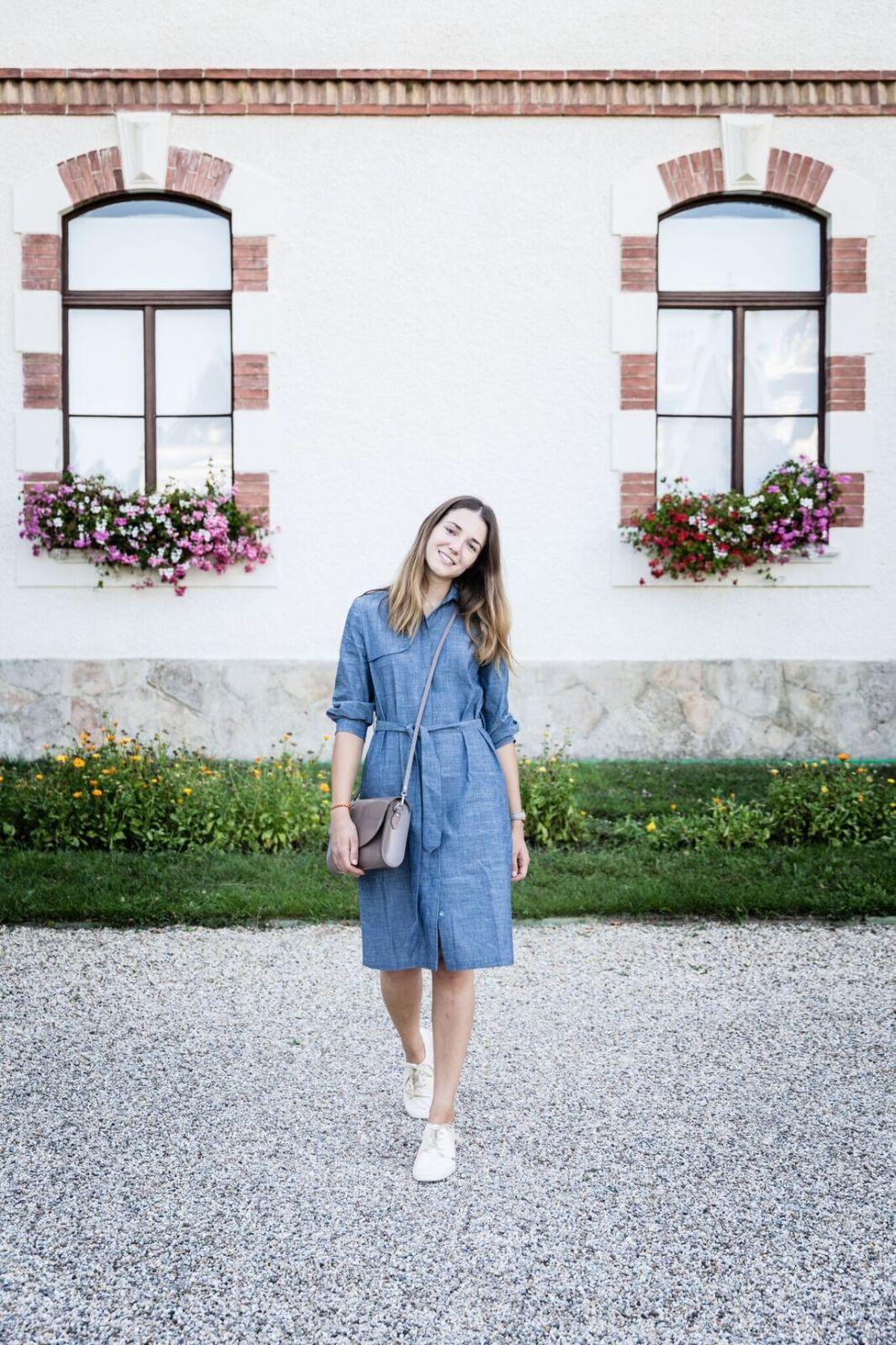 Hemdblusenkleid von Mila.Vert, fotografiert von Daniel Wolf