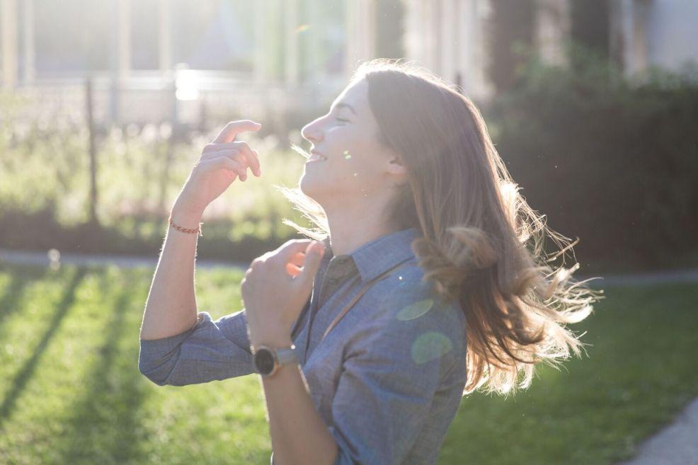 Kolumne: Über das Glücklichsein und Vorankommen