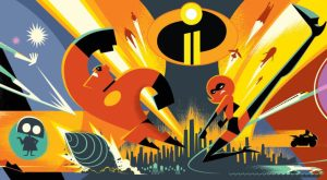 Incredibles 2 Concept Art