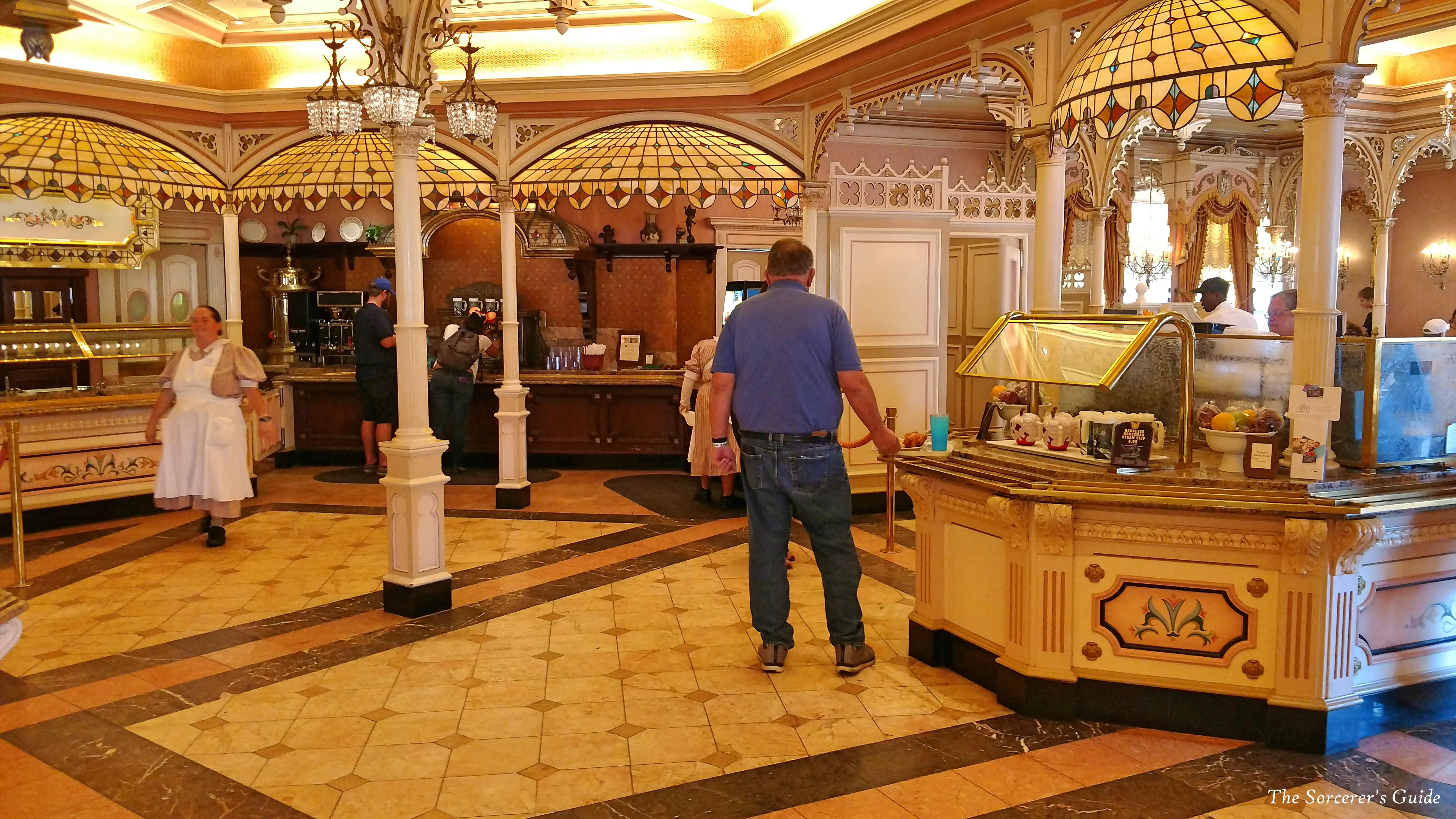 Inside of Plaza Inn