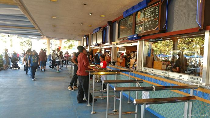 Disneyland Resort, Disneyland, Tomorrowland, Galactic Grill