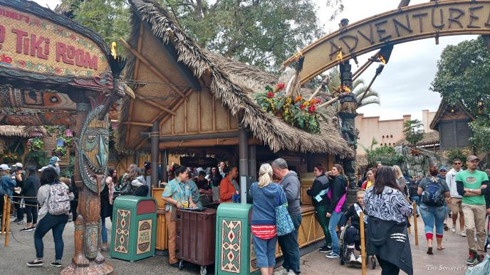 Disneyland Resort, Disneyland, Adventureland, Tiki Juice Bar