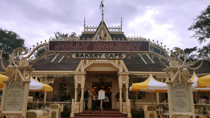 entrance to Jolly Holiday bakery
