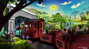 Mickey's Runaway Railway is Coming to Disneyland