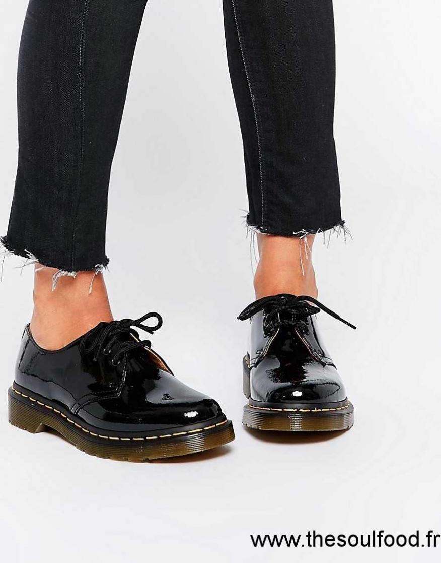 Dr Martens 1461 Chaussures Plates Classiques Noir
