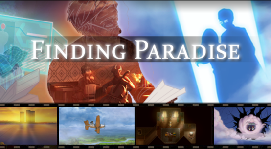 Finding Paradise Banner