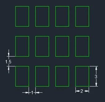 rectangular array