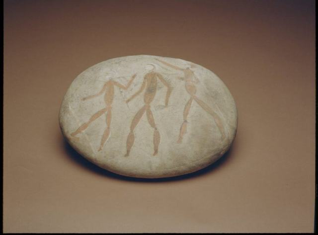 Coldstream Stone, ochre, stone, c. 7000 BC, © Iziko Museums of South Africa, Social History Collections, Cape Town