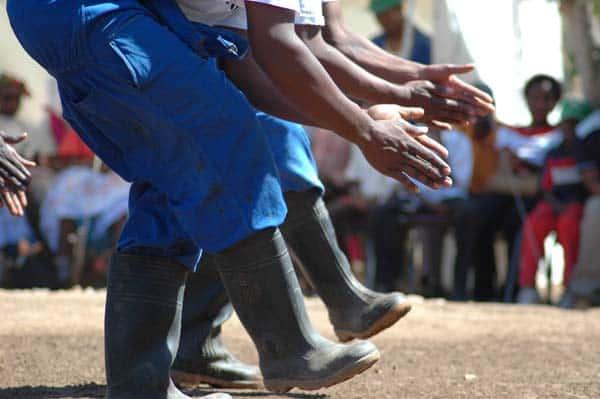 Gumboot dance