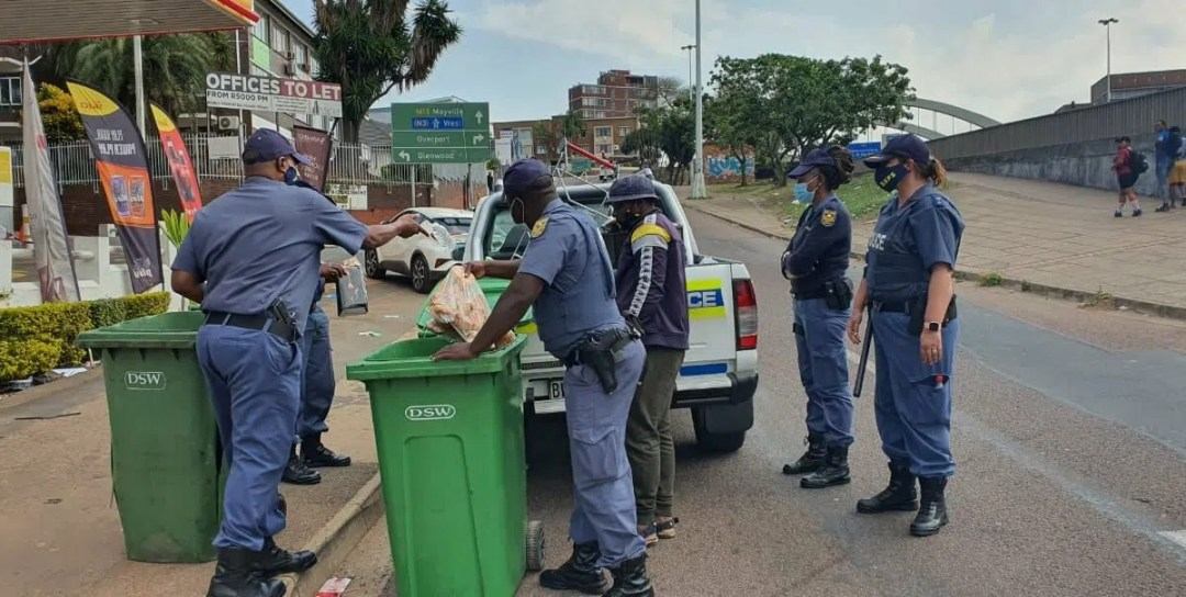 Two police officers arrested in Soweto for stolen goods