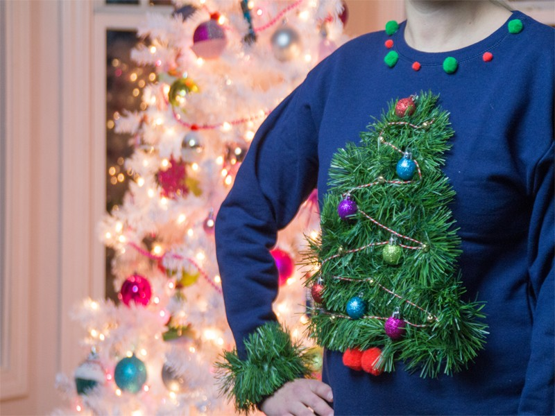 Ugly Christmas Tree Sweater Southern Couture