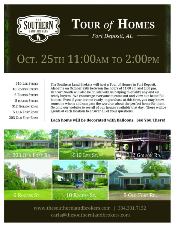 Tour of Homes Flyer