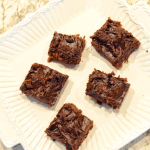 Low Carb Zucchini Brownies