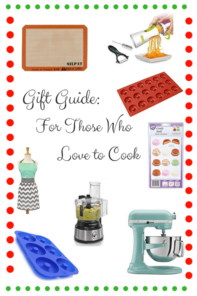 Gift Guide for Those who Love to Cook