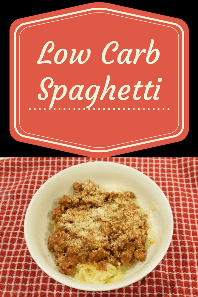 Low Carb Spaghetti