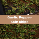 Garlic Pepper Kale Chips