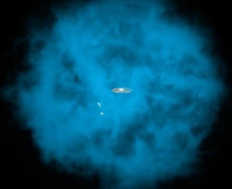Milky Way galaxy Halo