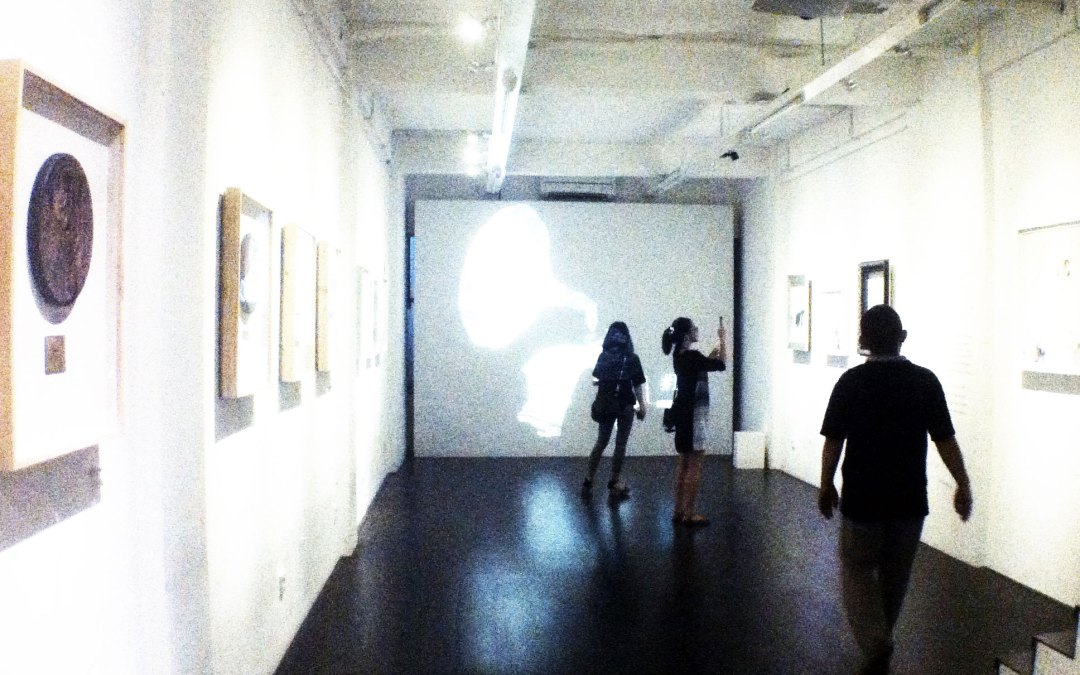 Hashtag Now Playing an art exhibition by R.Hakim and Ykha Amelz at Waga Gallery Kemang