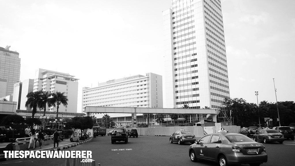 Bundaran Hotel Indonesia 2 Agustus 2014