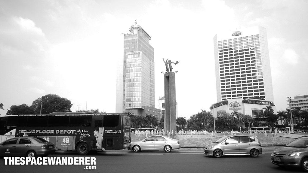Patung Selamat Datang 2 Agustus 2014