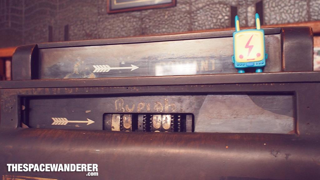 Old vintage cash register.