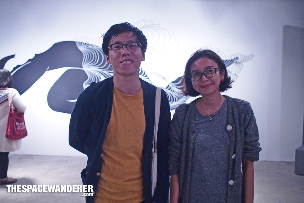 Fandy Susanto of Table 6 and his friend.