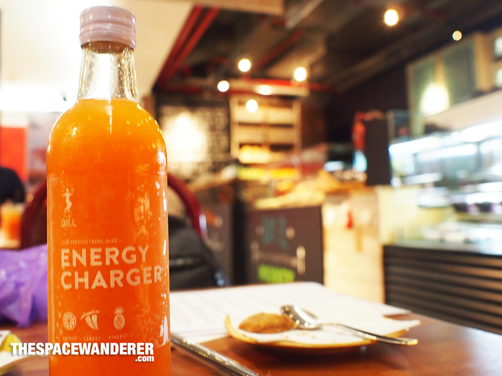 Energy Charger bottle